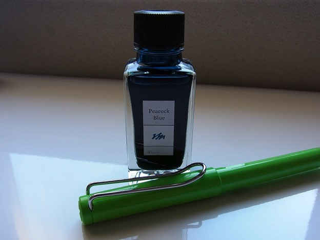 Kakimori Blend Ink - Peacock Blue