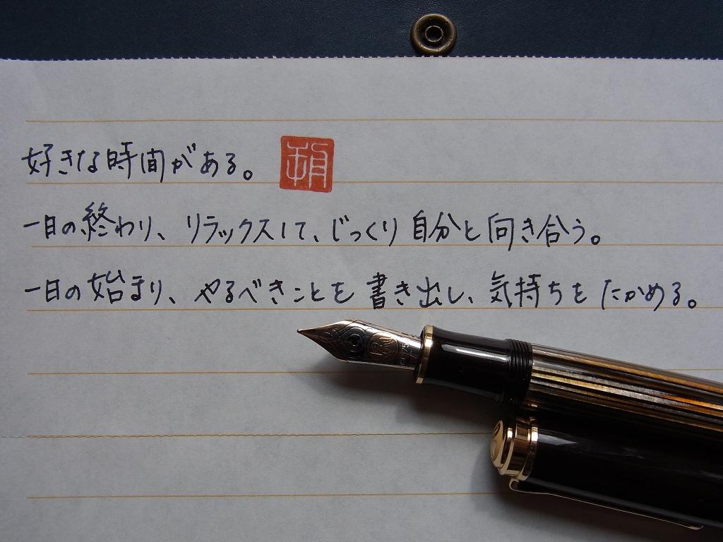 HAIBARA's Bellows Letter Paper in M800 Tortoiseshell Brown