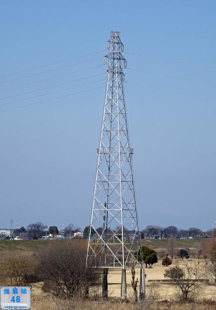 写真: 指扇線46号鉄塔