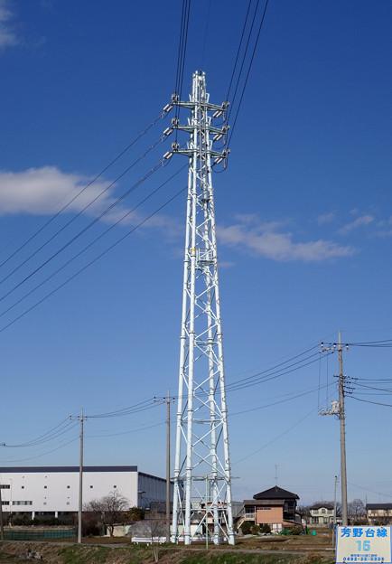 芳野台線15号鉄塔