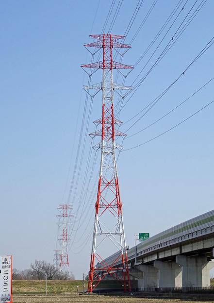 東京中線2032号鉄塔