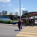 Photos: バタワースのバスターミナルです、これからタイに向かいます
