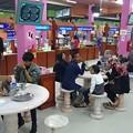 Photos: 夜中の食事休憩に寄った広い食堂