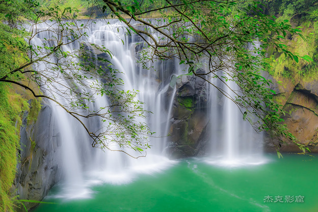 十分瀑布 Shifen Waterfall