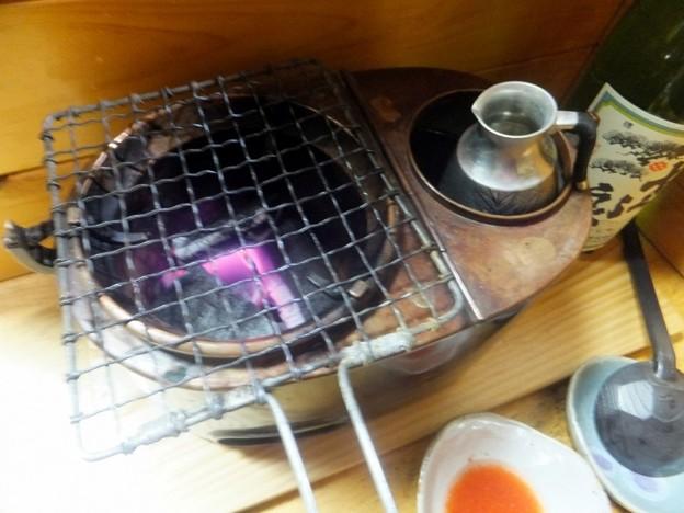 ふぐ鍋と燗どうこ
