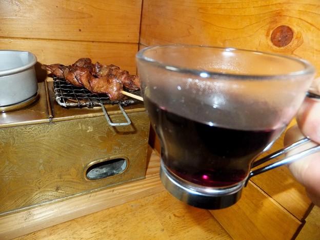燗銅壷でホットワイン