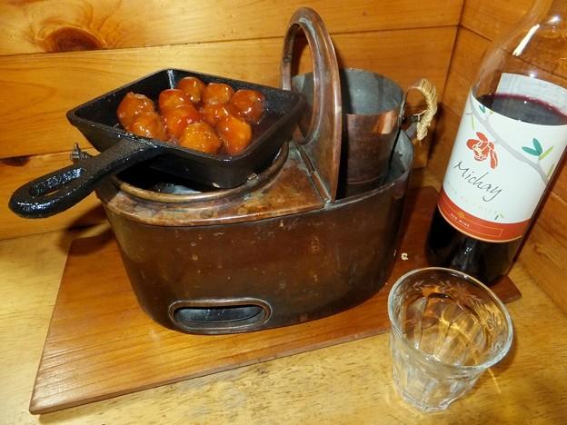 Photos: 後日 ホットワイン再び