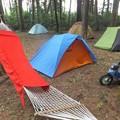 私のテントはここです