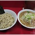 豚喜@東京亀有_つけ麺豚入り_001