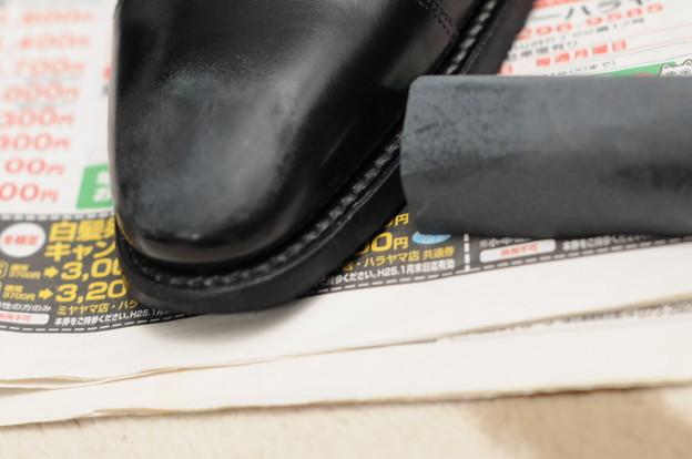 革靴 修理2