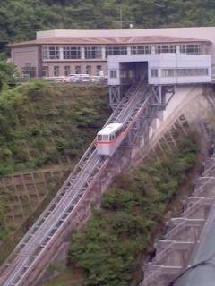 インクライン2(7月13日、宮ヶ瀬ダム)