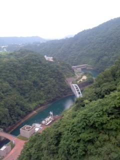 宮ヶ瀬ダム下流(7月13日)