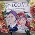 写真: 末妹の婚礼(7月20日)