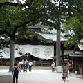 本日の靖国神社(9月4日)