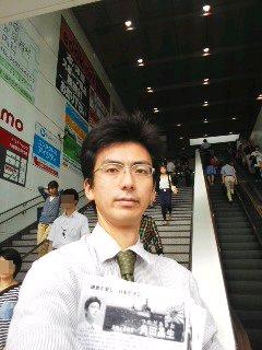 9月16日(火)大船駅朝駆け(角田晶生)