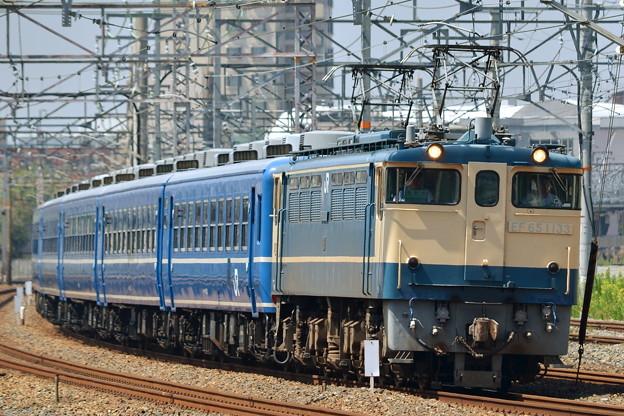 EF65-1133【回9912レ】北びわこ号 送り込み回送