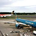 ベトナム航空 A350 &  シンガポール航空 A340