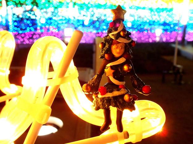 クリスマスツリーのフチ子