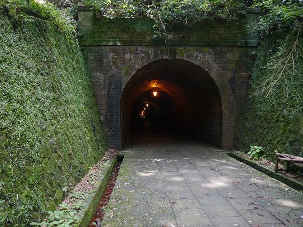宇津ノ谷トンネル 明治トンネル