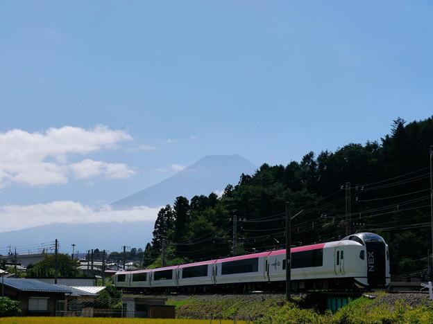 NEXと富士山