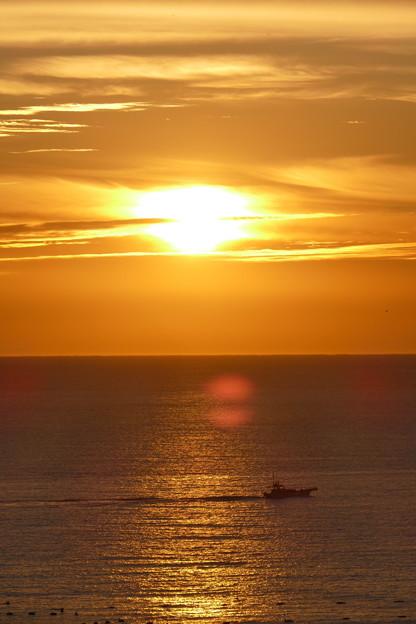 朝の相模湾