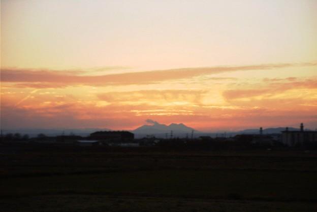 桜島の夕焼け