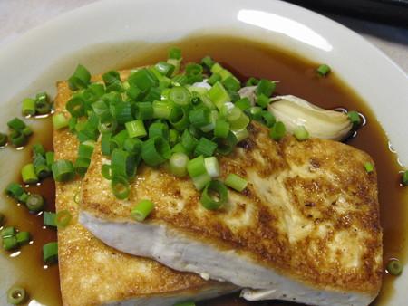 カツ代レシピ「豆腐のバターステーキ」