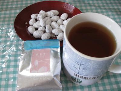 桜紅茶とハッカ樹氷