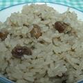 写真: 辰巳芳子さんレシピの炒り大豆ご飯