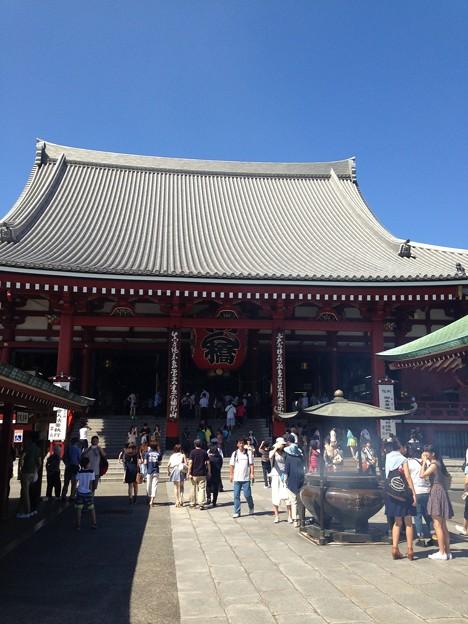 浅草寺 観音堂(台東区)