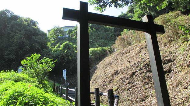 七曲坂(鎌倉市植木・城廻)