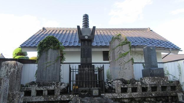 横田城(長野市篠ノ井)木曽義仲供養塔