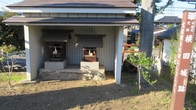 横田城(長野市篠ノ井)堀跡