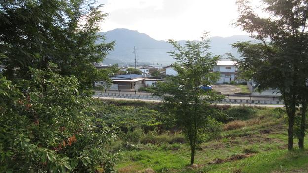 松代城(海津城。長野市松代町)古千曲川流路