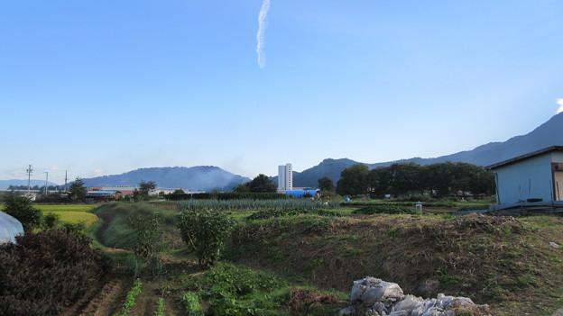 松代城(海津城。長野市松代町)土地の高低と形状