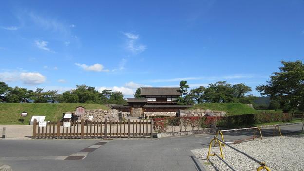 松代城(長野市営 海津城跡公園)立ち位置三の丸、外堀前