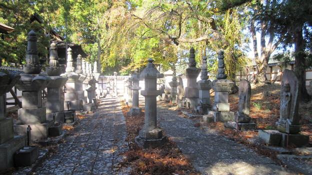 長国寺(長野市松代町)松代藩真田家墓所