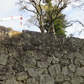 上田城(上田市営 上田城址公園)西虎口櫓門石垣