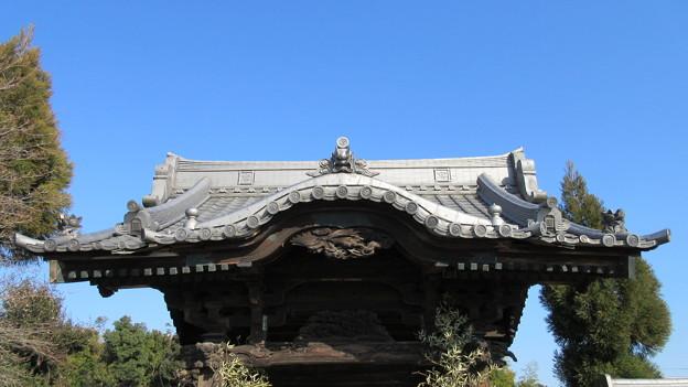 実相寺 山門(野田市)