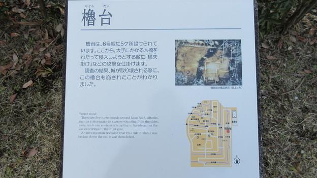 飛山城(宇都宮市営 飛山城史跡公園)櫓台4