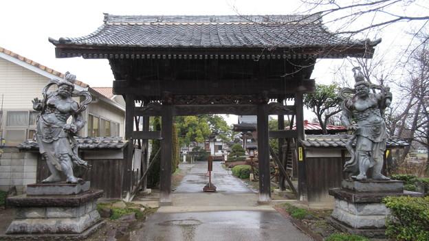 宝珠寺(伊勢崎市)山門