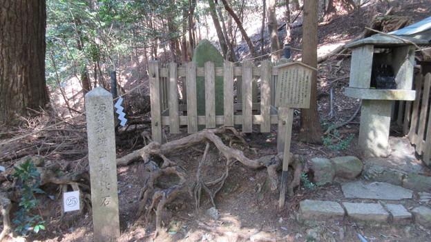 Photos: 鞍馬寺(左京区)背比べ石