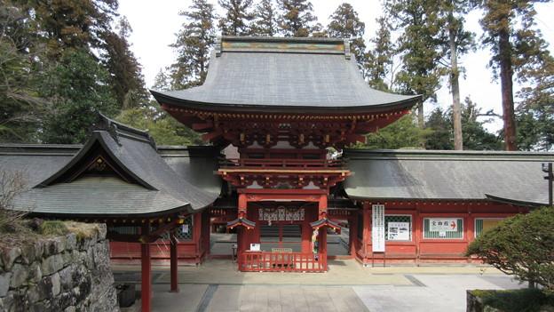 一之宮貫前神社(富岡市)楼門