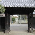 Photos: 七日市藩陣屋(富岡市。県立富岡高等学校)黒門
