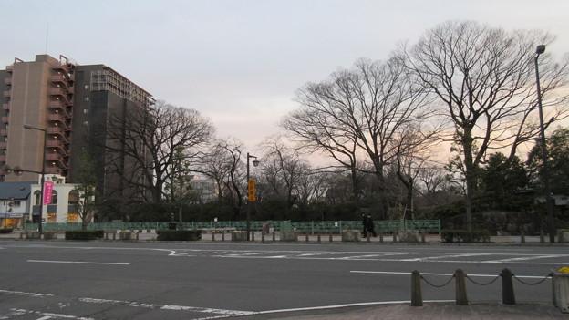 高崎城(和田城。高崎市)三の丸土塁