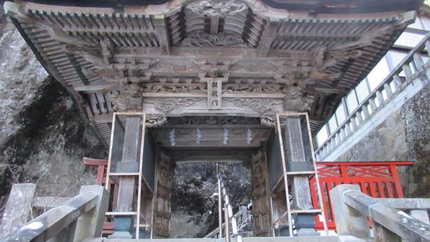 榛名神社(高崎市)双龍門