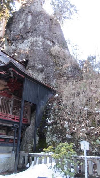 榛名神社(高崎市)御姿岩