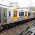 写真: 阪神電車1000系(1204編成) 直通特急姫路行き(甲子園駅にて)