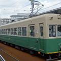 Photos: 嵐電(京福電鉄嵐山線)モボ301型+モボ101型