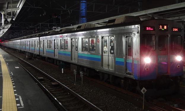 東武スカイツリーラインを走る東急電鉄8500系(第57回有馬記念前夜)